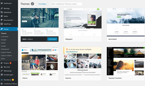 Schulung CMS WordPress